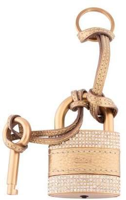 Chloé Embellished Lock & Key Bag charm