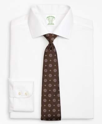 Brooks Brothers Milano Slim-Fit Dress Shirt, Non-Iron Textured Stripe