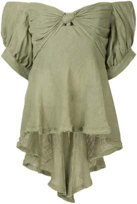 Kitx off-the-shoulder blouse