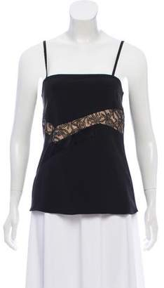 Prabal Gurung Sleeveless Lace-Accented Top w/ Tags
