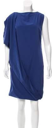 Maison Margiela Asymmetrical Draped Dress