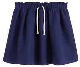 MANGO Bow flared skirt