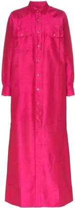 Marques Almeida Marques'Almeida silk shirt dress