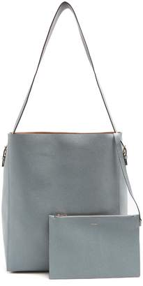 Valextra Sacca pebbled-leather tote