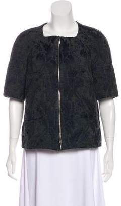 Marni Jacquard Zip-Up Jacket