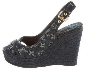 Louis Vuitton Louis Vuitton Idylle Monogram Wedges
