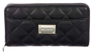 St. John Quilted Leather Wallet