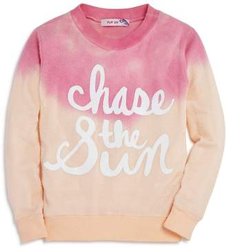 Play Six Girls' Dip-Dyed Chase the Sun Sweatshirt - Little Kid