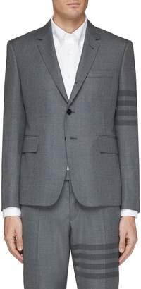 Stripe sleeve blazer