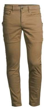 Hudson Jeans Jeans Men's Sartor Relaxed Skinny Jeans - Dusty Olive - Size 28