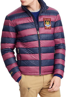 Polo Ralph Lauren Big Tall Packable Rugby Down-Filled Jacket