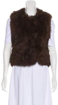 Rachel Comey Fur Sleeveless Vest