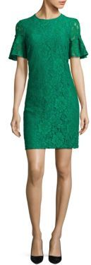 Burberry Burberry Anthialace Bell-Sleeve Dress