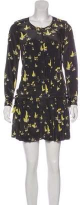 Etoile Isabel Marant Printed Pleated Dress