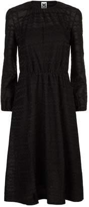 M Missoni Lurex Wave Midi Dress