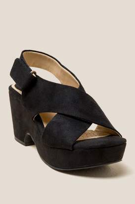 Laundry by Shelli Segal Cl By Laundry CL by Laundry Capital Platform Wedge Heel - Black