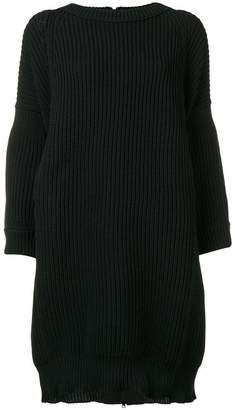 Y's oversized knitted dress
