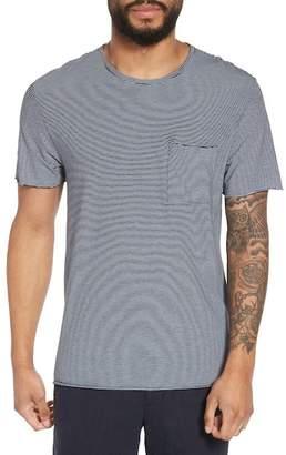 Vince Slim Fit Stripe Pocket T-Shirt