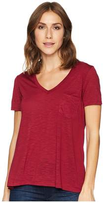 Stetson 1582 Rayon Jersey Knit Short Sleeve V-Neck Tee Women's Clothing