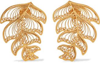 Mallarino Erika Gold Vermeil Earrings - one size