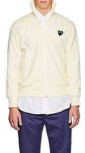 Comme des Garcons Men's Heart Track Jacket - Ivorybone