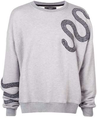 Amiri Slithering Snake sweatshirt