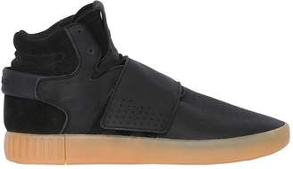 adidas Tubular Invader Strap Mid Top Sneakers
