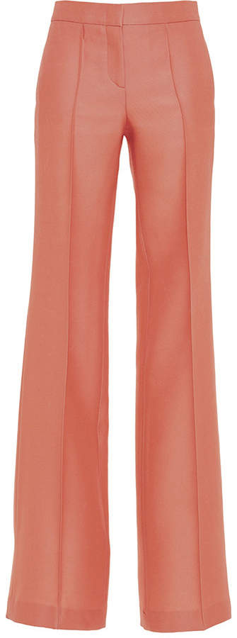 Emilio Pucci Structured Pleated Trousers