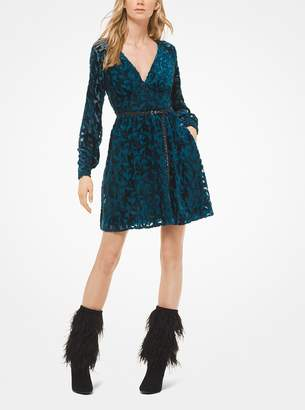 MICHAEL Michael Kors Velvet Devore Dress
