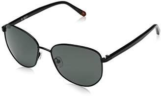 Original Penguin Men's The Wood Sun Polarized Aviator Sunglasses