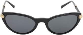 Versace Medusa Cat Eye Acetate Sunglasses