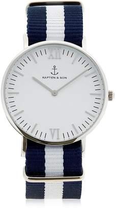 KAPTEN & SON 40mm Sail Steel Watch