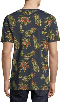 Wesc Men's Maxwell Pineapple Graphic T-Shirt