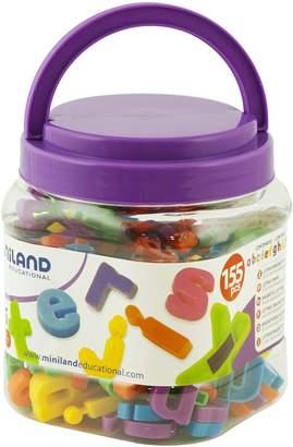 Miniland Magnetic Lower Case Letters Jar