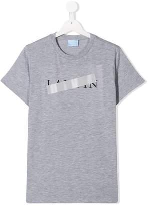 Lanvin Enfant TEEN censored logo T-shirt