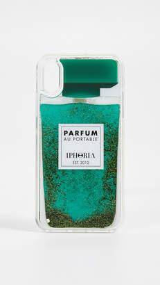 Iphoria Perfume Green iPhone X Case