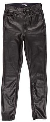 Mother The Swooner Mid-Rise Pants