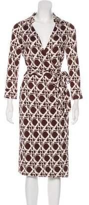 Diane von Furstenberg Silk Jersey Midi Dress