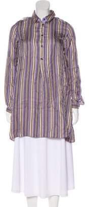 Etro Silk Striped Dress