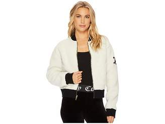 Juicy Couture Sherpa Reversible Jacket Women's Coat