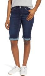 Jag Jeans Nina Raw Cuff Bermuda Shorts