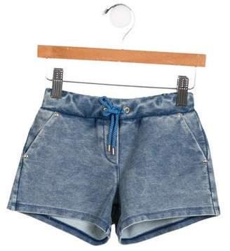 Chloé Girls' Knit Track Shorts