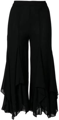 MICHAEL Michael Kors chiffon godet trousers