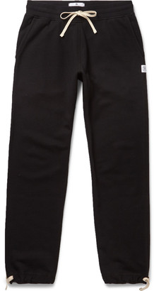 Reigning Champ Loopback Cotton-Jersey Sweatpants $110 thestylecure.com