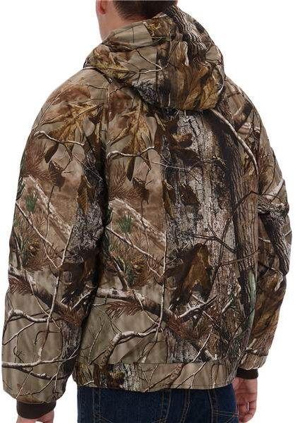 Gamehide Drop Tine Reversible Jacket - Waterproof, Insulated (For Men)