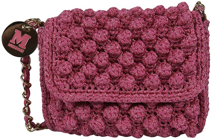 Missoni Knitted Glitter Shoulder Bag