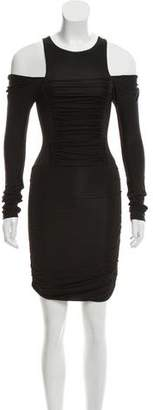 Pierre Balmain Ruched Mini Dress
