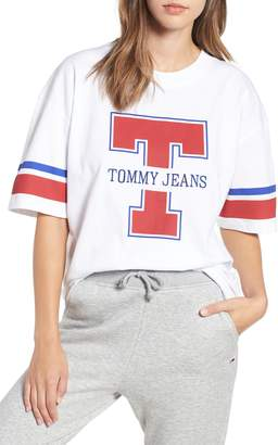 Tommy Jeans TJW Football Logo Tee