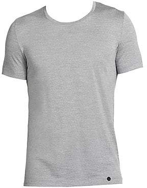 Hanro Men's Light Merino Crewneck Tee
