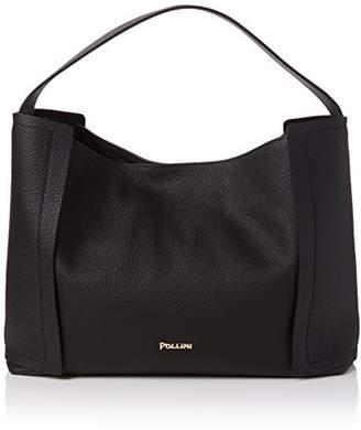 Pollini Pc4122pp04qa0000, Women's Top-Handle Bag, Nero